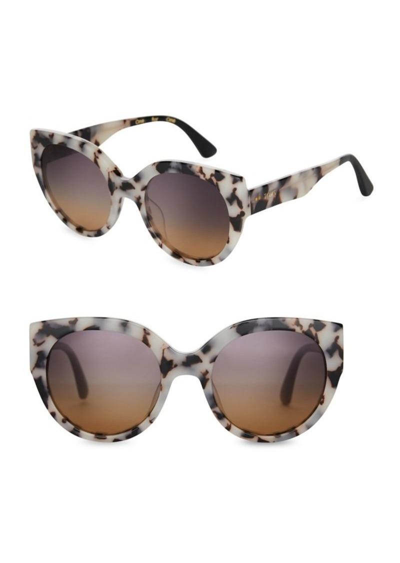 36d1586e59a1f TOMS Shoes Toms Luisa 54mm Cat Eye Sunglasses