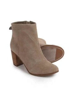 TOMS Shoes TOMS Lunata Ankle Boots - Suede (For Women)
