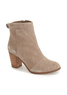 TOMS Shoes TOMS Lunata Suede Bootie (Women)