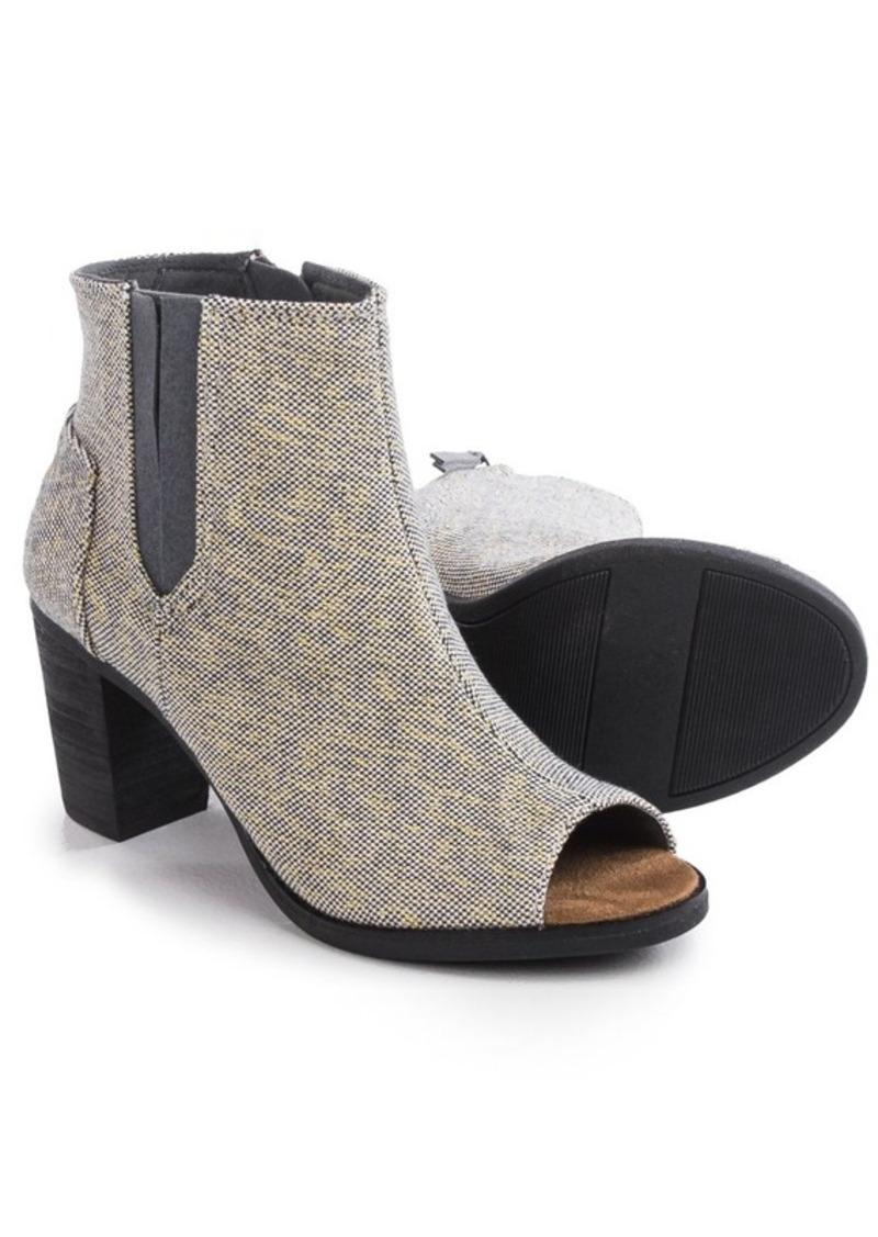18c2a878062 TOMS Shoes TOMS Majorca Peep Toe Ankle Boots (For Women)