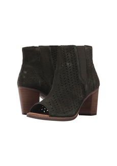 TOMS Shoes Majorca Peep Toe Bootie