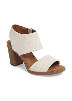 TOMS Shoes TOMS Majorca Block Heel Sandal (Women)