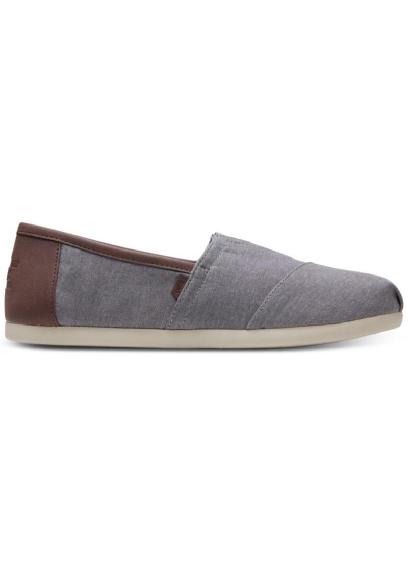 TOMS Shoes Toms Men's Alpargata Chambray Slip-Ons Men's Shoes