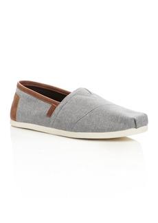 TOMS Shoes TOMS Men's Alpargata Classic Chambray Slip-Ons