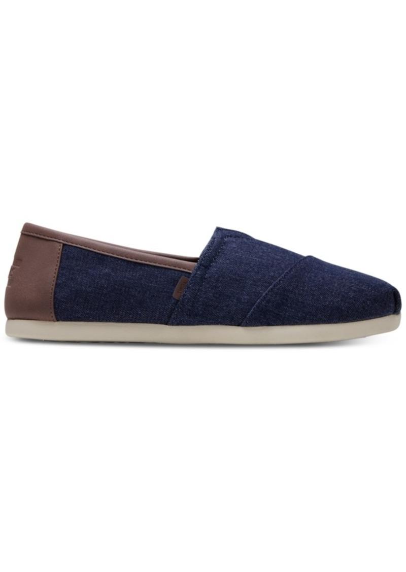 TOMS Shoes Toms Men's Alpargata Dark Denim Slip-Ons Men's Shoes