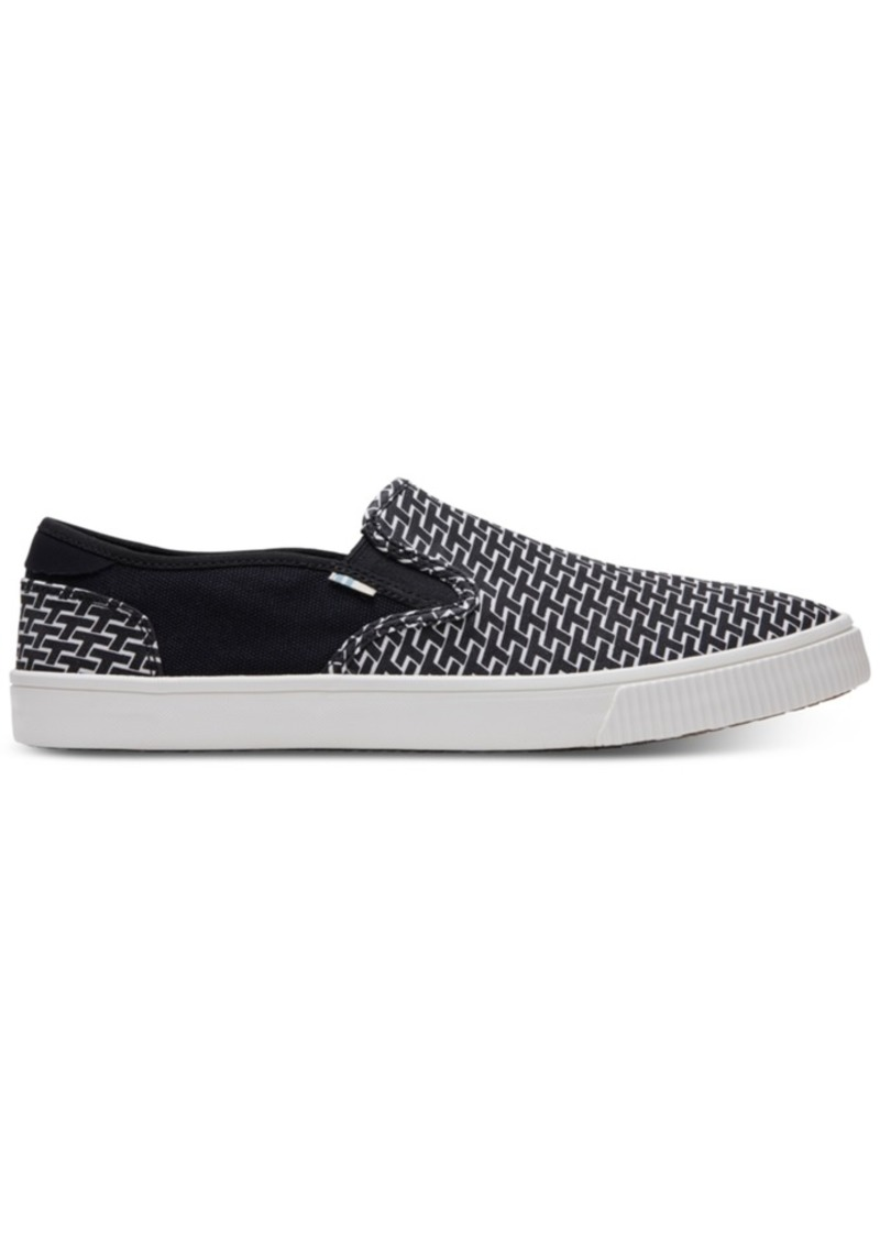 TOMS Shoes Toms Men's Baja Pattern Printed Slip-On Sneakers Men's Shoes