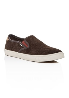 TOMS Shoes TOMS Men's Baja Suede Slip-On Sneakers - 100% Exclusive