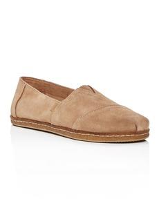 TOMS Shoes TOMS Men's Classic Alpargata Suede Slip-Ons