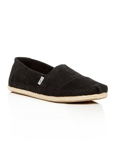 TOMS Shoes TOMS Men's Classic Nubuck Leather Espadrilles
