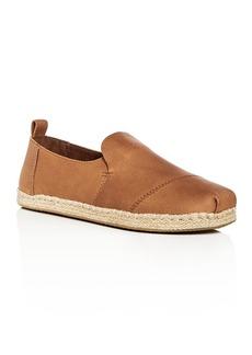 TOMS Shoes TOMS Men's Deconstructed Alaprgata Leather Espadrilles