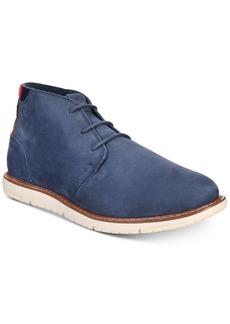 TOMS Shoes Toms Men's Navi Crosshatch Denim Boots Men's Shoes