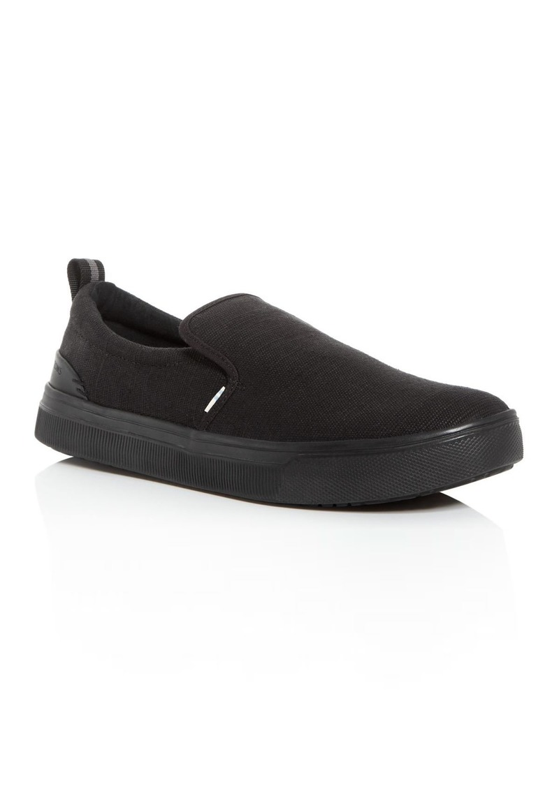 TOMS Shoes TOMS Men's Travel Lite Canvas Slip-On Sneakers