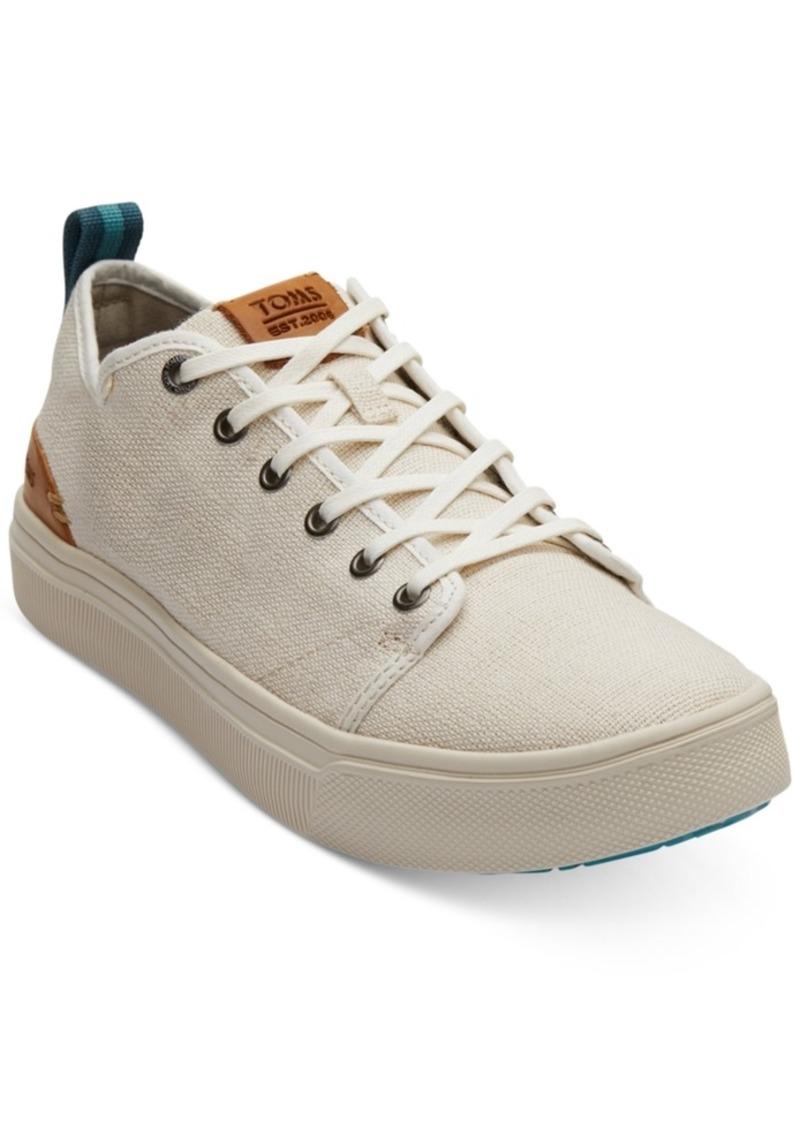 TOMS Shoes Toms Men's Travel Lite Natural Canvas Sneakers Men's Shoes