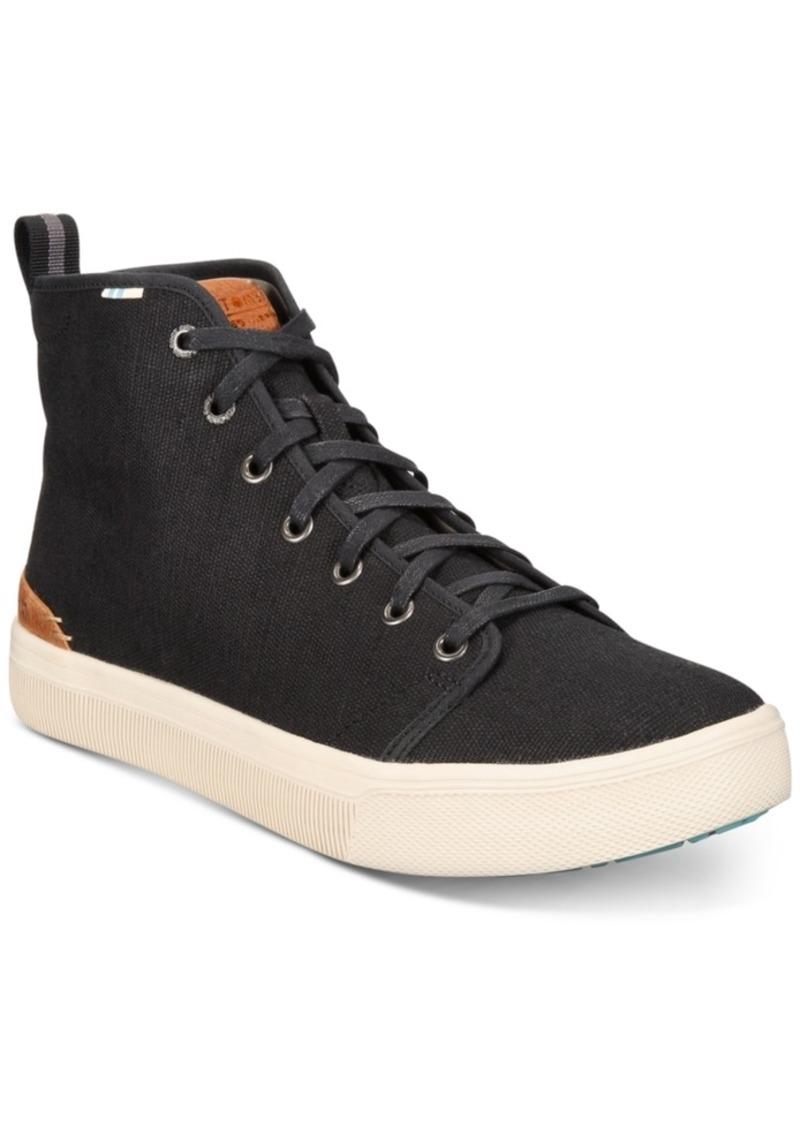 TOMS Shoes Toms Men's Trvl Lite High-Top Canvas Sneakers Men's Shoes