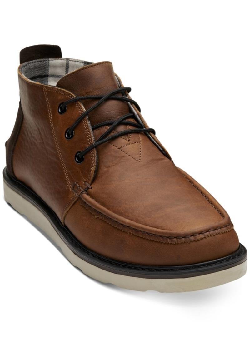 TOMS Shoes Toms Men's Waterproof Chukka Boots Men's Shoes