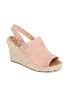 TOMS Monika Slingback Wedge (Women)