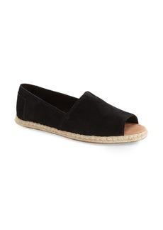 TOMS Shoes TOMS Open Toe Espadrille Slip-On (Women)