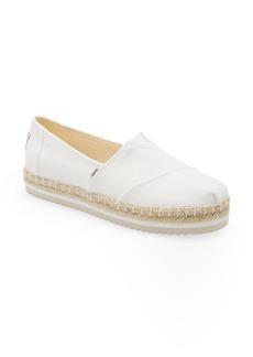TOMS Shoes TOMS Platform Alpargata (Women)
