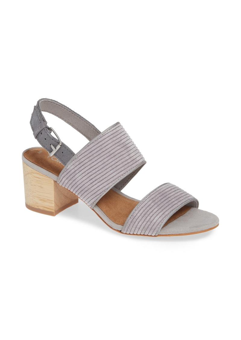 TOMS Shoes TOMS Poppy Sandal (Women)