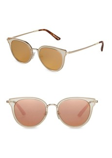 TOMS Shoes Toms Rey 49mm Cat Eye Sunglasses