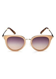 TOMS Shoes TOMS Rey Round Sunglasses, 49mm