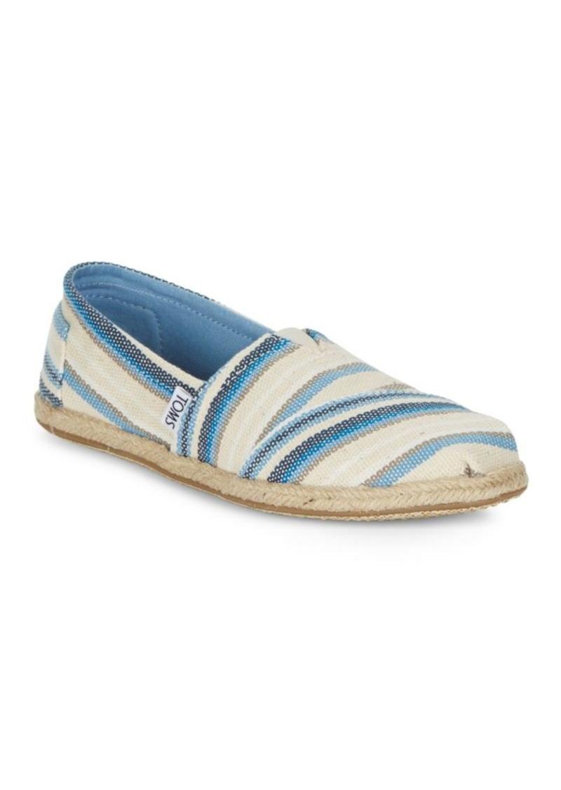 40a91e9410 TOMS Shoes TOMS Seasonal Classic Alpargata Flats | Shoes