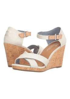 TOMS Shoes Sienna Wedge