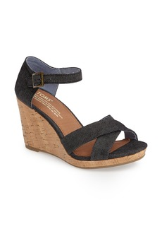 TOMS Shoes TOMS Sienna Wedge Sandal (Women)