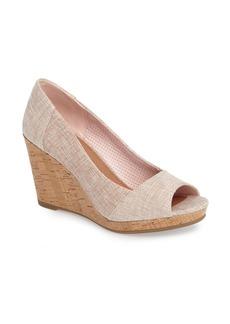 TOMS Shoes TOMS Stella Wedge Pump (Women)