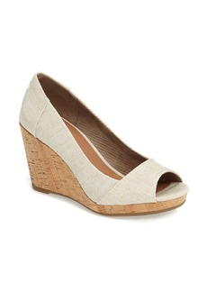 TOMS Shoes TOMS Stella Wedge Pump (Women)