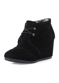 TOMS Shoes TOMS Suede Desert Wedge Boot