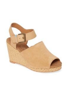 TOMS Shoes TOMS Tropez Wedge Slingback Sandal