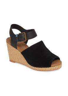 757d602c00b TOMS Shoes Alpaop Suede Platform Espadrilles