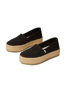 TOMS Shoes TOMS Valencia Platform Espadrille (Women)