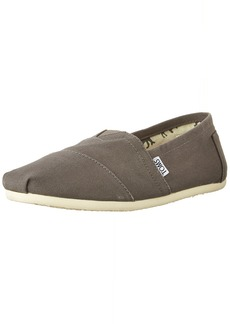 TOMS Shoes TOMS Women's 001001b07-Grey Canvas Alpargata Flat