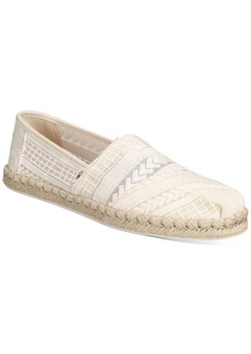 TOMS Shoes Toms Women's Arrow Embroidered Alpargata Flats Women's Shoes
