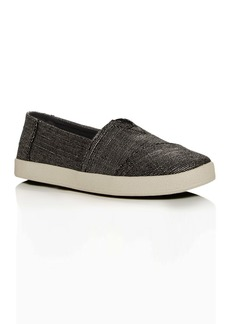 TOMS Shoes TOMS Women's Avalon Metallic Woven Slip-On Sneakers