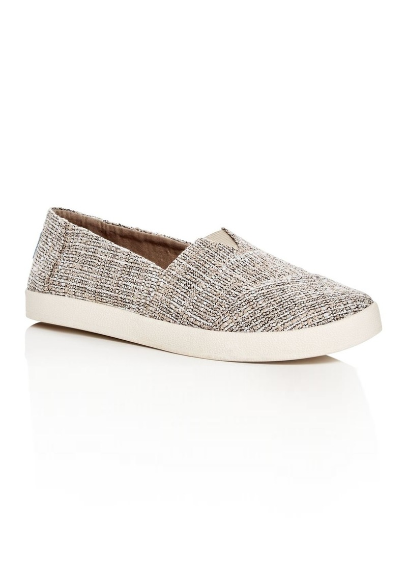 3ade9ba1971 TOMS Shoes TOMS Women s Avalon Tweed Slip-On Sneakers