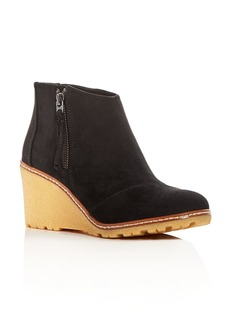 TOMS Shoes TOMS Women's Avery Wedge Booties