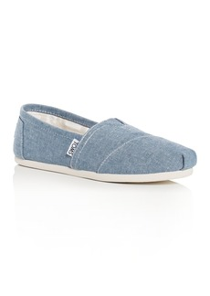 TOMS Shoes TOMS Women's Chambray Alpargata Flats