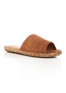 TOMS Shoes TOMS Women's Clarita Suede Espadrille Slide Sandals