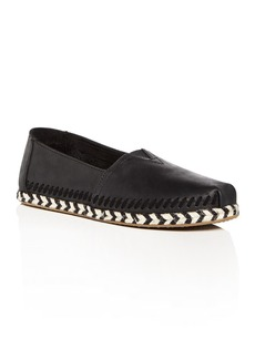 TOMS Shoes TOMS Women's Classic Leather Espadrille Flats