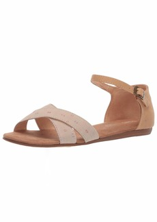 TOMS Shoes TOMS Women's Correa Sandal Oxford tan Woven/Honey Synthetic Suede  B Medium US