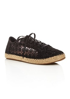 TOMS Shoes TOMS Women's Lena Embroidered Mesh Lace Up Espadrille Sneakers