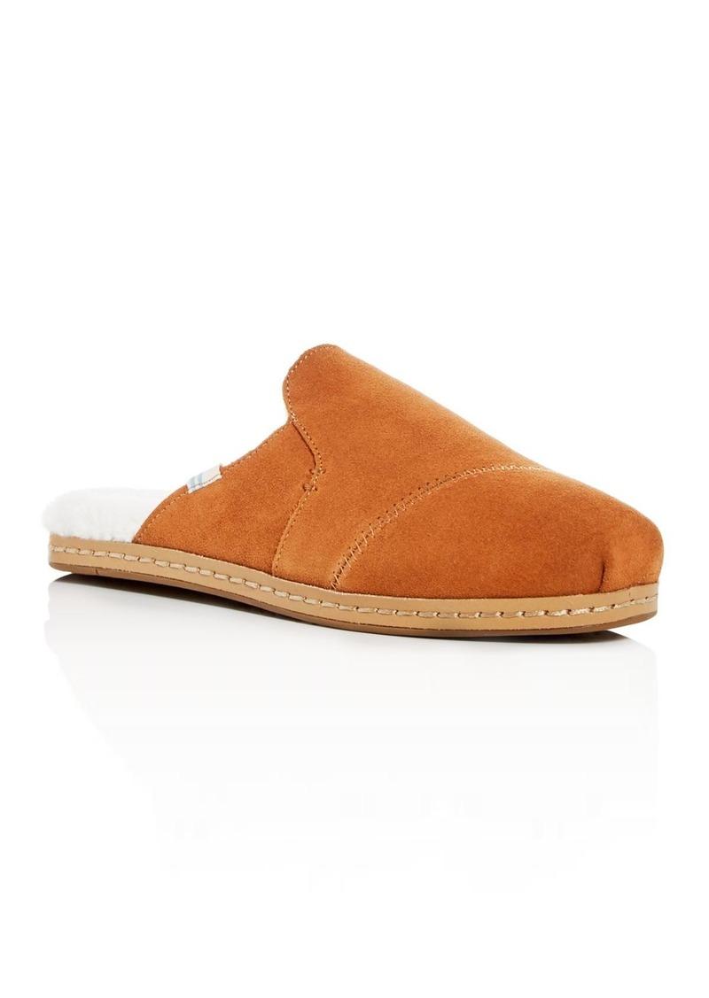 TOMS Shoes TOMS Women's Nova Faux-Fur Slippers