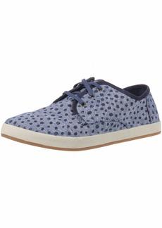TOMS Shoes TOMS Women's Paseo Sneaker Cornflower slub Chambray Torn dots  Medium US