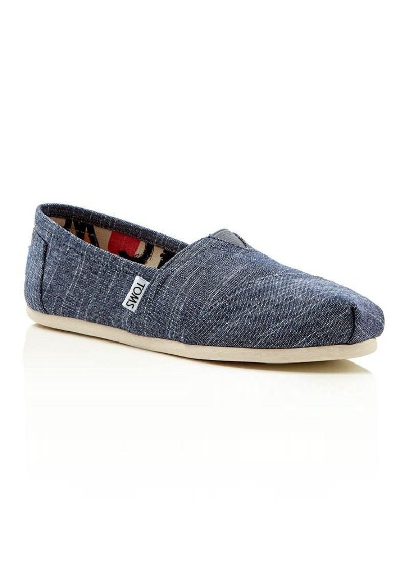 TOMS Shoes TOMS Women's Seasonal Classic Chambray Slip Ons