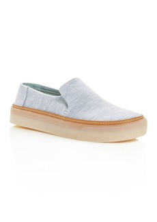TOMS Shoes TOMS Women's Sunset Chambray Platform Flats