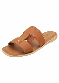 TOMS Shoes TOMS Womens Vegetable ned Leather Seacliff Sandals