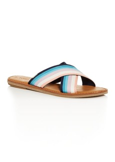 TOMS Shoes TOMS Women's Viv Crisscross Slide Sandals